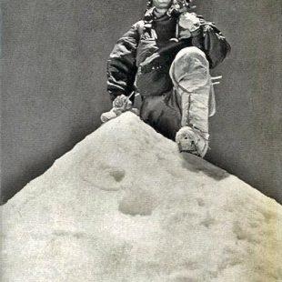 Jean Couzy en la la primera ascensión al Makalu