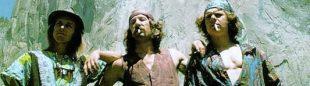 Billy westbay, Jim Bridwell y John Long tras escalar 'The nose' en 1975