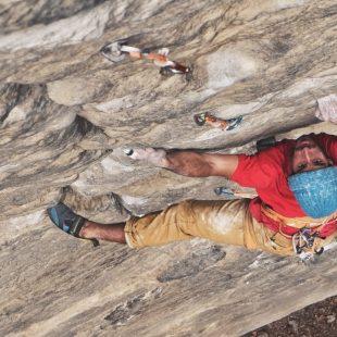 """El escalador Lucho Birkner, proyecto """"Bajo la Gran Montaña"""", Nepal"""