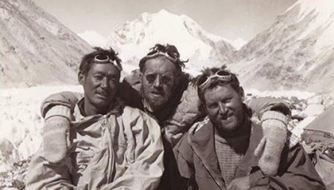 Pasang Dawa Lama, Herbert Tichy y Sepp Joechler