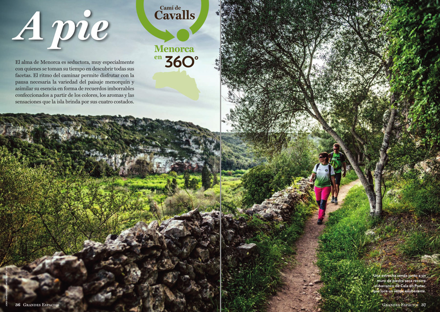 Grandes Espacios nº 264 Especial Menorca 360º ~ Camí de cavalls
