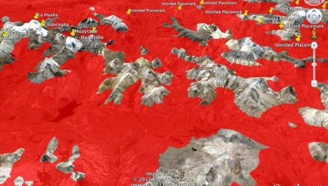 Escena del mapeamento selectivo