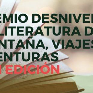 Premio Desnivel de Literatura de Montaña, Viajes y Aventuras 2020