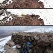 Ruinas incas vistas de un satélite.