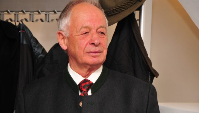 Hanns Schell, el domador del salvaje Rupal