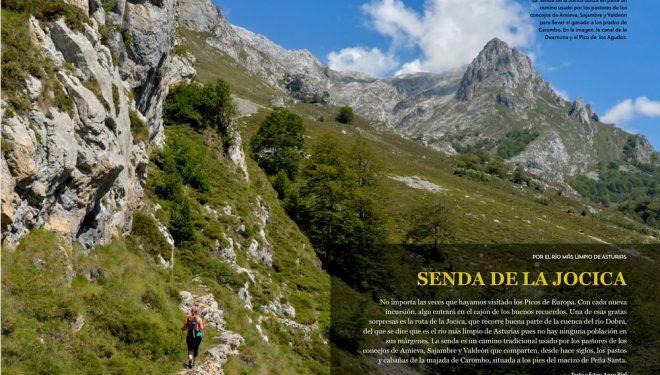 Macizo Occidental de Picos de Europa con el último número de Grandes Espacios