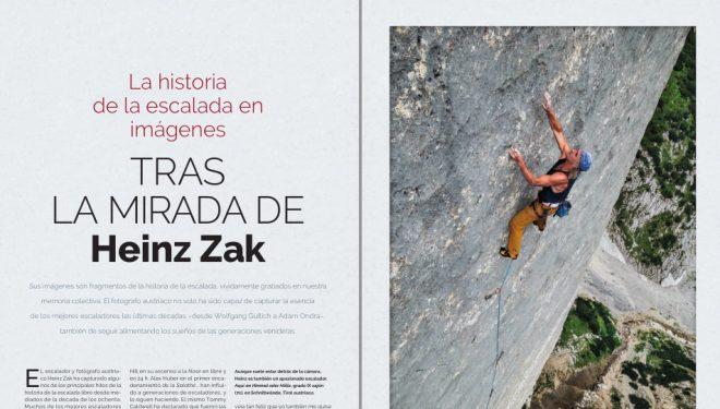 Historia fotográfica Heinz Zak. Desnivel nº 407