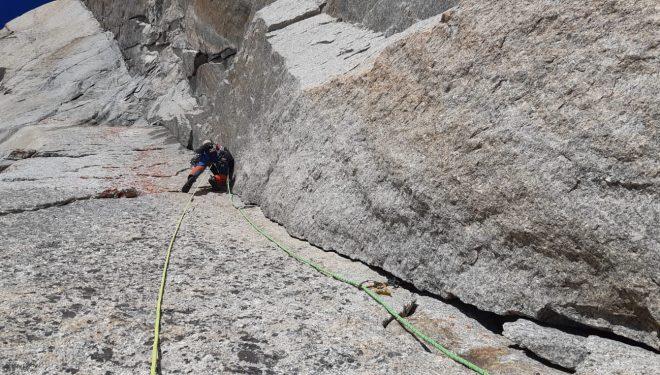 "Javi Guzmán en ""Divina Provindencia"", Mont Blanc"