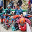 Mikel Zabalza con el Equipo de Jóvenes Alpinistas en Chamonix, julio 2020