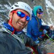"Javi Guzmán y Mikel Zabalza en ""Divina Providencia"" Mont Blanc"