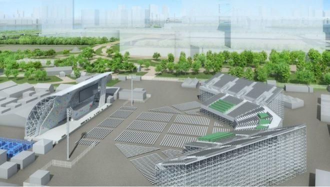 Aomi Urban Sports Center, sede de la escalada en Tokyo 2020