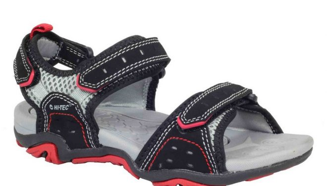 Sandalia Hi-Tec Arena BlackRed