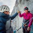 Nils Favre y Symon Welfringer en 'Paciencia' en la norte del Eiger