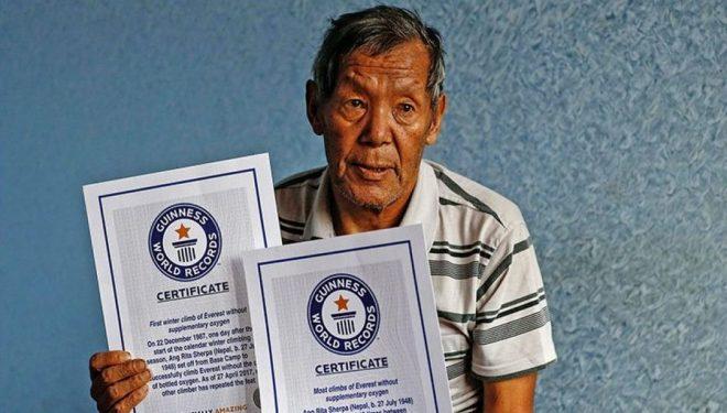 Fallece Ang Rita Sherpa (72 años), hombre récord del Everest sin oxígeno