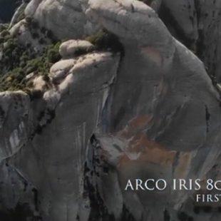 Edu Marin en Arco Iris 200m 8c+