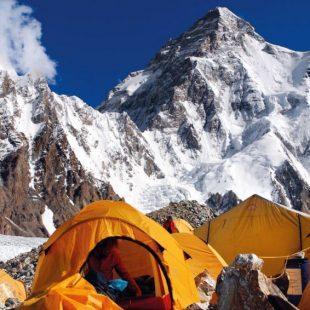 Campo base del Broad Peak (4850 m). Glaciar Godwin Austen. Baltoro. Karakórum. Pakistán.