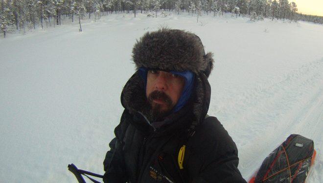 Manolo Taibo, expedición ártica 2016