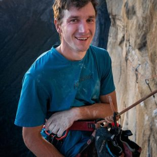 Jordan Cannon en 'Golden gate' en El Capitan (Yosemite).
