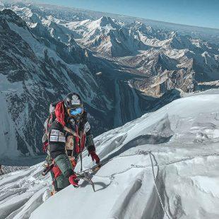 Nirmal Purja en el K2 en 2019.