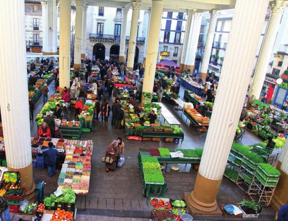 El mercado de Ordizia es el más antiguo del País Vasco.