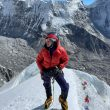Marie Pierre Desharnais aclimata en Nepal para el K2 invernal.