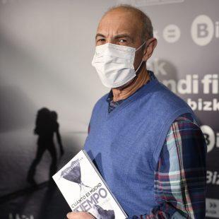 """Juanjo San Sebastián en la presentación de su nuevo libro """"Cuánto es mucho tiempo"""""""