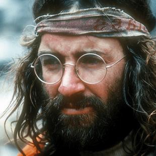 Doug Scott durante la expedición al Everest de 1975.