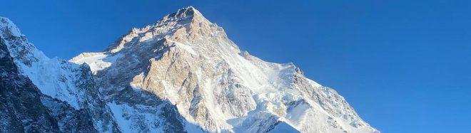 Imagen del K2 invernal el 30 de diciembre de 2020.