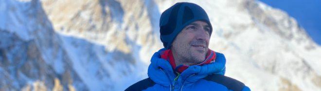 Sergi Mingote, Nochevieja en el CB del K2.