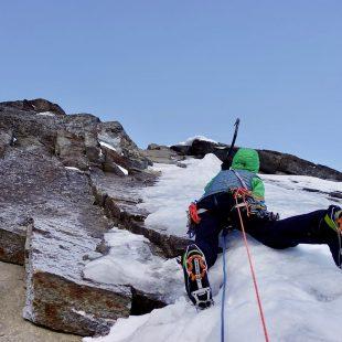 Ines Papert en 'Limited in freedom' al Sagwand (Tirol).