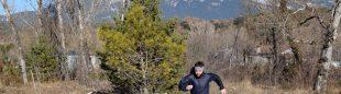 Juan Alberto Humanes corriendo por el Pirineo con las zapatillas La Sportiva Jackal GTX