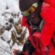 Mingma Gyalje Sherpa, en la Chimenea House del K2 invernal.
