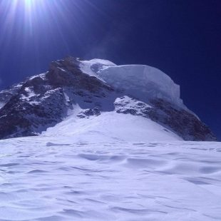 Imagen desde el Hombro del K2 invernal.