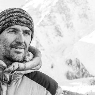 Sergi Mingote en el campo base del K2 (diciembre 2021).