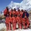 Miembros de la primera invernal al Manaslu.