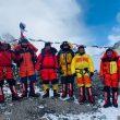 Los ocho sherpas que encabezan el segundo intento de cumbre al K2 invernal.
