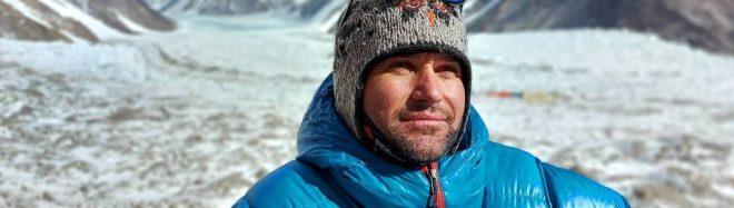 Atanas Skatov, en el CB del K2.