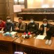 Rueda de prensa en Skardu sobre los desaparecidos en el K2 invernal.