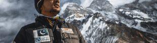 Sajid Ali en el K2 invernal.