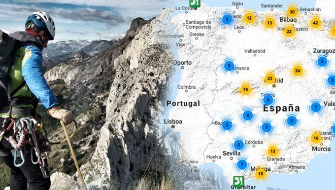 Mapa interactivo de regulaciones a la escalada