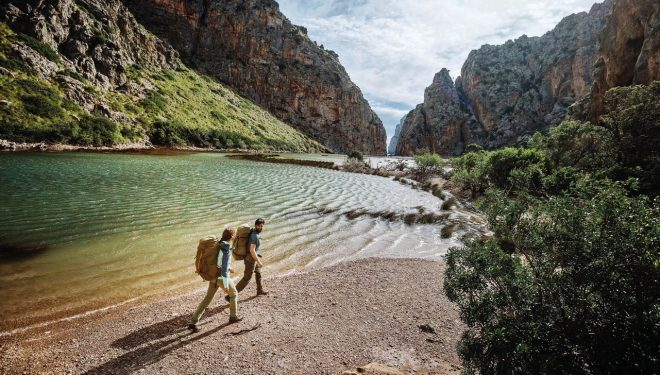 Preparados para disfrutar de un trekking de varios días por la isla de Mallorca