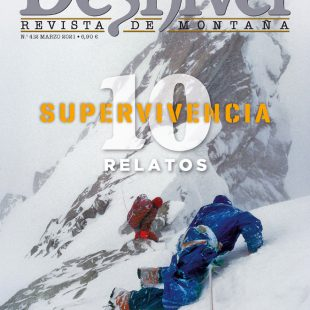 Revista Desnivel nº 412. 10 relatos de supervivencia