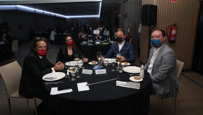 """Gala de La Razón donde hizo la entrega de sus premios de """"excelencia empresarial"""""""