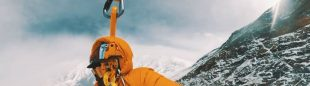 Lu Chung-Han 'Ago' evacuado en helicóptero del Annapurna.