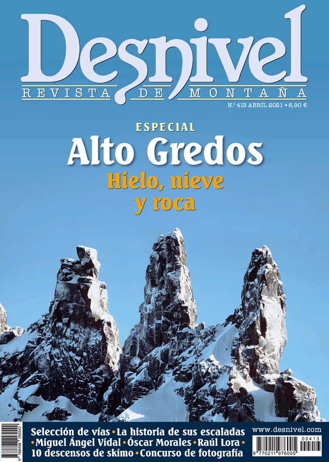 Revista Desnivel nº 413. Especial Alto Gredos