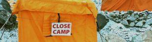 Campo base del Everest en época de Covid.