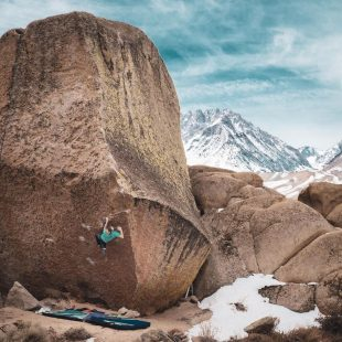 Alex Johnson en 'The Swarm' 8B/+ de Bishop.