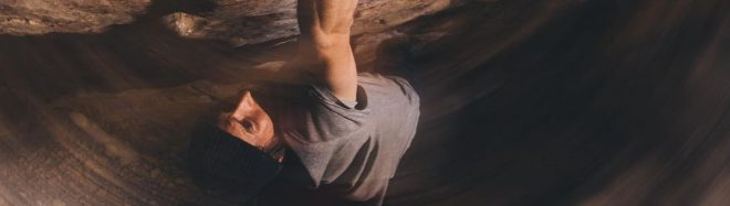 Daniel Woods en 'Return of the Sleepwalker' 9A de Red Rocks.
