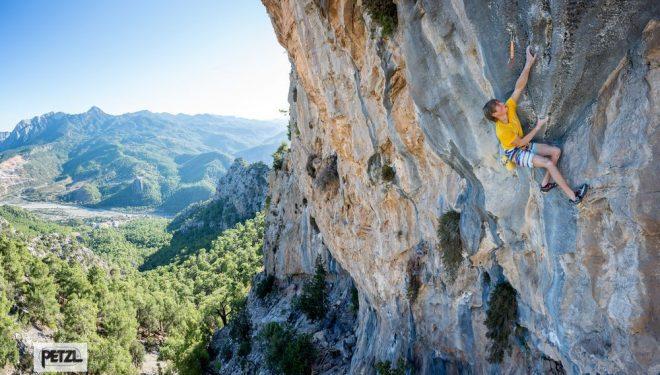 Alex Megos en Cidtibi (Turquía) Foto Jan Novak