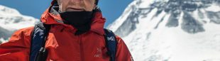 Carlos Soria en un momento de su expedición al Dhaulagiri 2021.